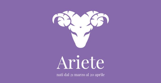 immagine segno zodiacale dell'ariete